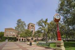 Kampus uniwersytet południowo-kalifornijski zdjęcie stock