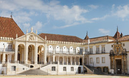 kampusu Coimbra uniwersytet Obrazy Stock