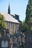 Kampusu santo, Zadziwiający historyczny cmentarz Obrazy Royalty Free