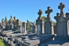 Kampusu santo, Zadziwiający historyczny cmentarz Fotografia Stock