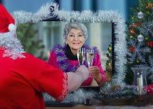 Kamrat dla osamotnionej starszej kobiety Obraz Royalty Free