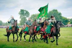 kamratów opancerzeni cossacks Zdjęcia Royalty Free