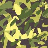 kamuflażu bezszwowy deseniowy militate royalty ilustracja