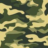 Kamuflażu deseniowy tło Klasycznej odzieży camo powtórki stylowy maskuje druk Zdjęcia Stock