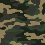 Kamuflażu deseniowy tło Klasycznej odzieży camo powtórki stylowy maskuje druk Fotografia Stock