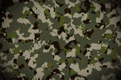Kamuflażu deseniowy tło Militarny kamuflażu wzór obrazy royalty free