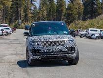Kamuflażu Land Rover pierwowzór obrazy royalty free