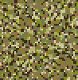 Kamuflażu wzór Fotografia Stock