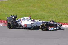 Kamui Kobayashi in 2012 F1 Canadian Grand Prix Royalty Free Stock Photo