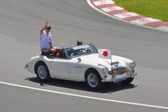 Kamui Kobayashi in 2012 F1 Canadian Grand Prix Royalty Free Stock Photography