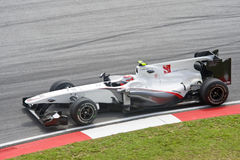 Kamui Kobayashi BMW Sauber Formula One Racing Team Stock Photo