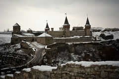 kamyanets podilsky Украина замока Стоковые Фото