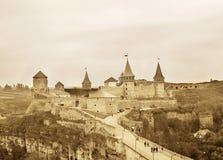 Kamyanets-Podilsky Castle Stock Photo