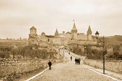 Kamyanets-Podilsky Castle Royalty Free Stock Photo