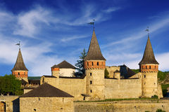 Kamyanets Podilsky Castle Royalty Free Stock Images