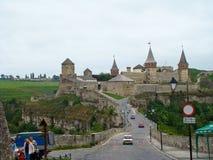 Kamyanets-podilsky fortress stock photography