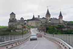 Kamyanets-Podolsky, Ουκρανία - 29 Ιουνίου 2018: Castle σε kamyanets-Podolsky στοκ φωτογραφίες με δικαίωμα ελεύθερης χρήσης