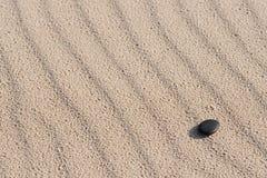 kamyczek na plaży Fotografia Royalty Free