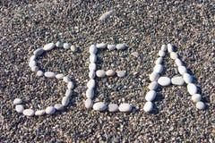 kamyczek przybrzeżne Zdjęcia Royalty Free