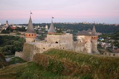 kamynec старая podolskiy Украина замока Стоковая Фотография RF