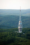 Kamzik TV transmission tower in Bratislava, Slovakia Royalty Free Stock Photo
