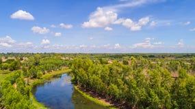 Kanäle in der Landschaft 3 Lizenzfreies Stockbild