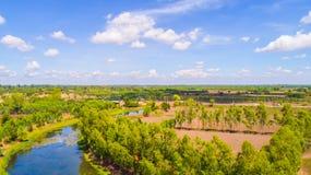 Kanäle in der Landschaft 6 Lizenzfreies Stockbild