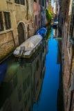 Kanäle und historische Gebäude von Venedig, Italien Lizenzfreie Stockbilder
