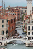 Kanäle, Venedig, Italien stockfotografie