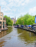 Kanäle von Amsterdam Lizenzfreie Stockfotografie