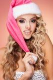kan ändra jul, eps-mapp somhatten har i lager dig Royaltyfri Foto