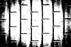 Kan als prentbriefkaar worden gebruikt Malplaatje van de Grunge het Zwart-witte Stedelijke Vectortextuur Stock Afbeeldingen