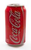 kan cocaen - cola Arkivfoton
