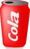 kan cola vektor illustrationer