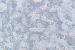 Kan de zink gegalvaniseerde grunge metaaltextuur als achtergrond, grijze achtergrond gebruiken royalty-vrije stock foto