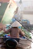 kan den deltamekong thoen vietnam Royaltyfri Fotografi