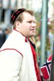 17 kan den oslo Norge mannen på ståta Royaltyfria Foton