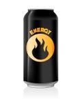 kan dricka energi Royaltyfri Foto