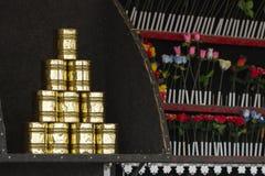 Kan introduktion- och skyttestallen Royaltyfri Fotografi