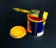 kan måla Fotografering för Bildbyråer