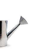 kan metal att bevattna white Arkivfoto