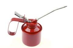 kan oil red Royaltyfria Bilder