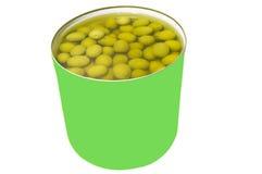 kan olivgrön Royaltyfria Foton