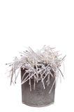 kan paper strimlat avfall Royaltyfria Bilder