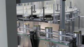 Kan productiefabriek stock videobeelden
