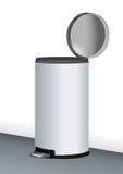 kan rostfritt stålavfall Arkivfoton