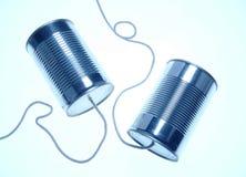 Kan telefoons royalty-vrije stock foto's