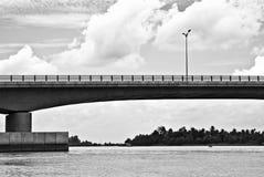 Kan Tho overbruggen, Vietnam Royalty-vrije Stock Fotografie