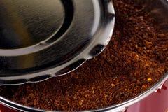Kan van Koffie stock fotografie