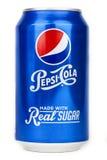 Kan van Pepsi-cola Royalty-vrije Stock Foto